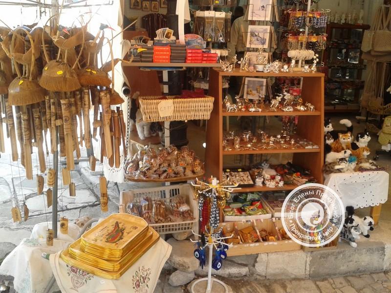 деревня Омодос на Кипре
