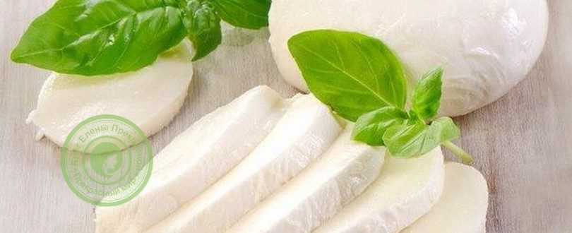 рецепт сыра моцарелла в домашних условиях