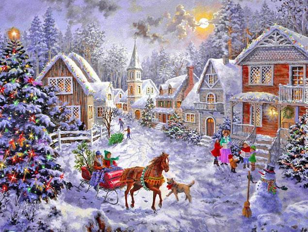 рождественские традиции и обычаи в России