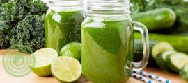 зеленые коктейли для здоровья