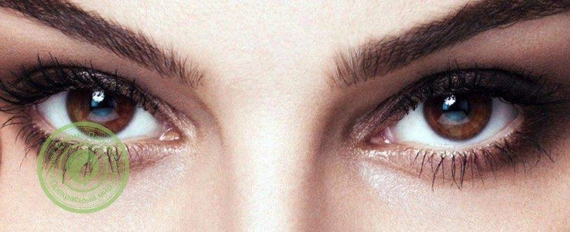 макияж выразительные глаза