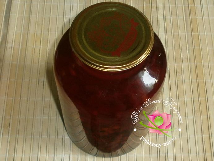 компот из смородины