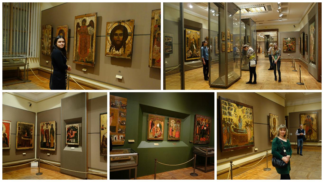 иконы в Третьяковской галерее