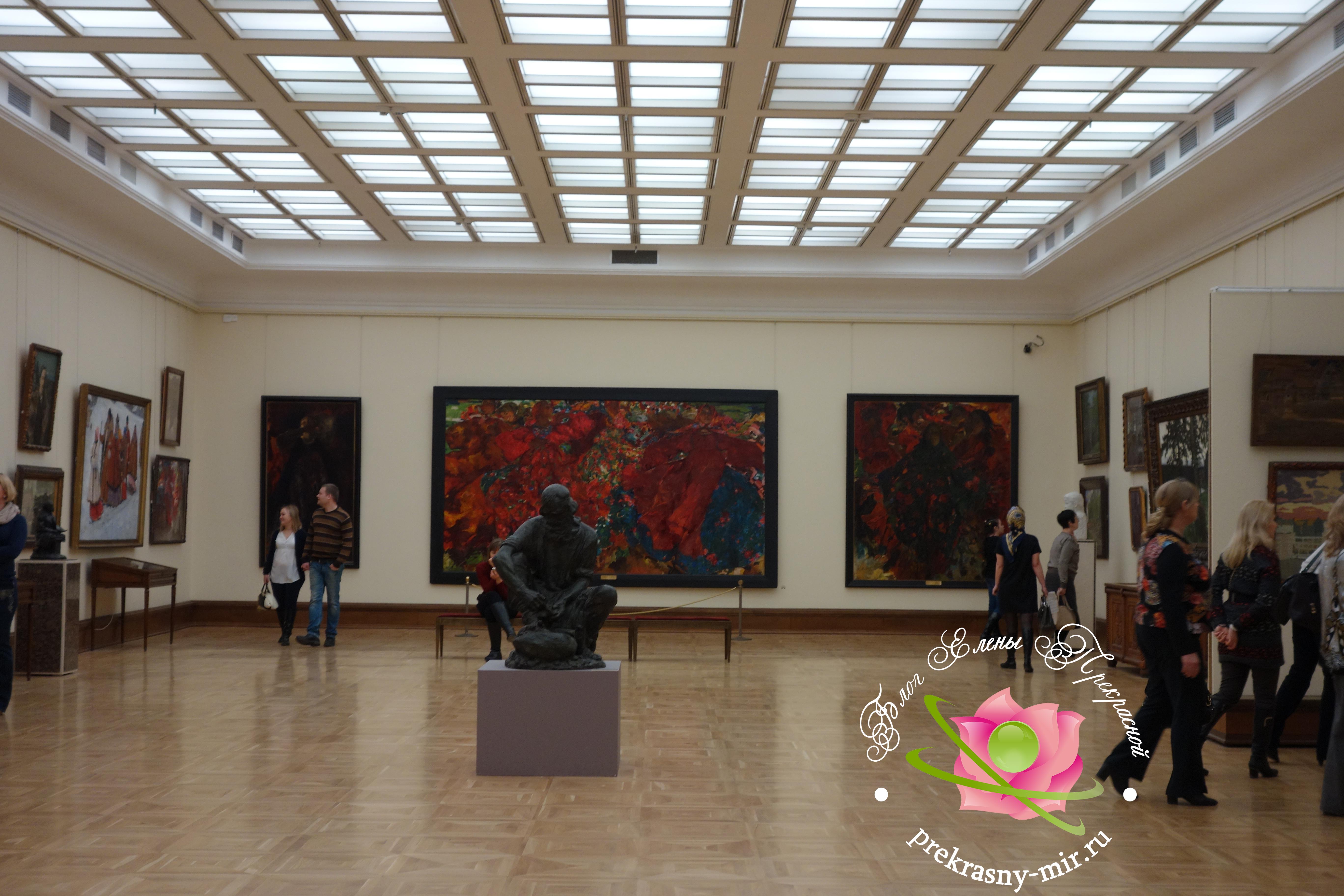 третьяковская галерея на Лаврушинском переулке