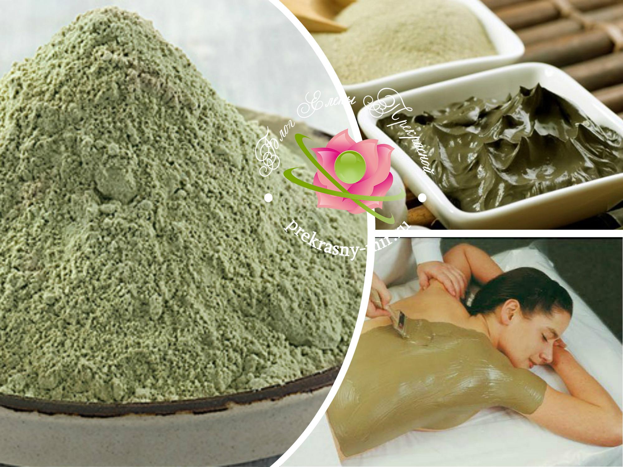 обертывания с зеленой глиной