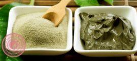 зеленая глина польза для кожи