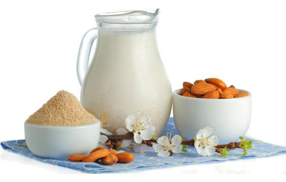молоко из злаков и орехов