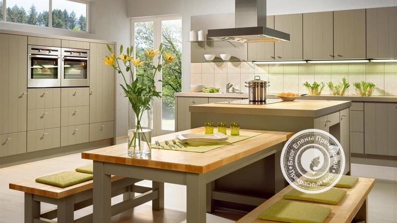 кухня по фен шуй правила и расположение