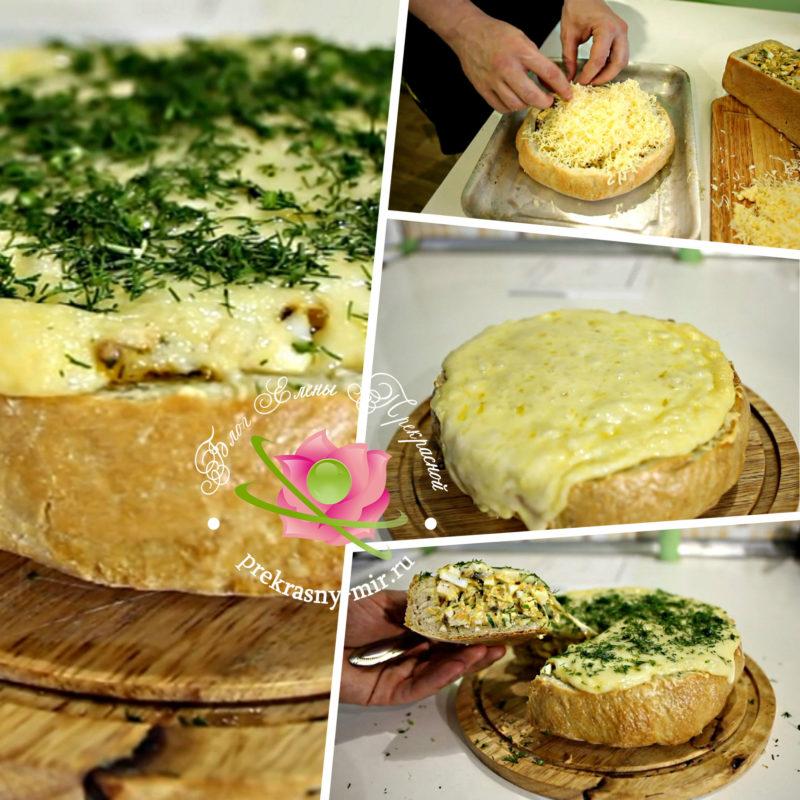 Как приготовить фаршированный хлеб: рецепт в домашних условиях
