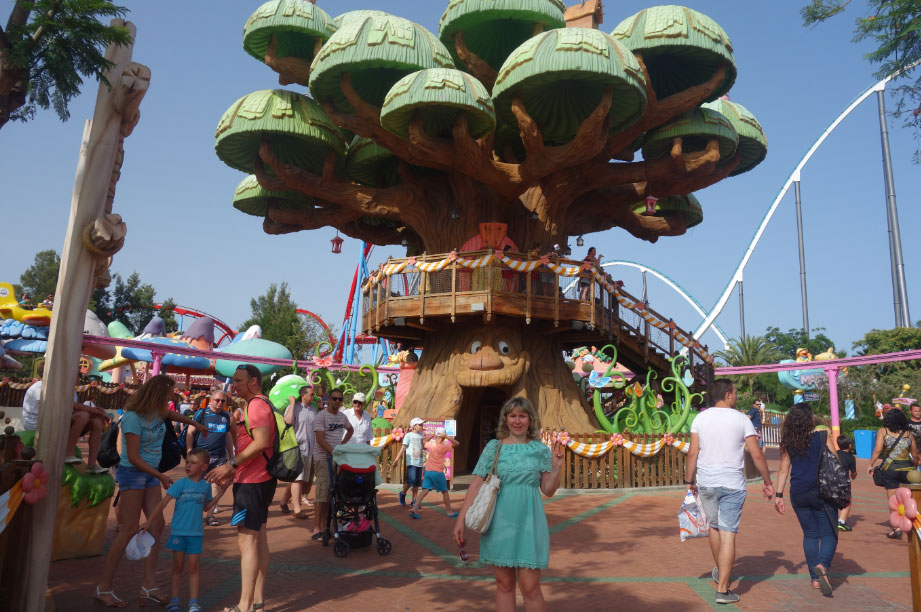 Порт Авентура для детей