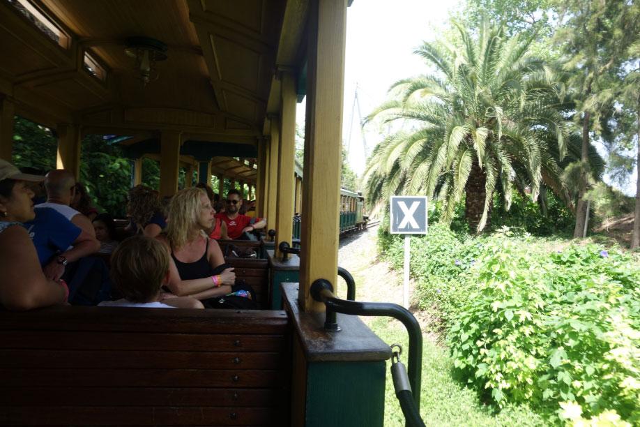Поезд в Парке Авентура