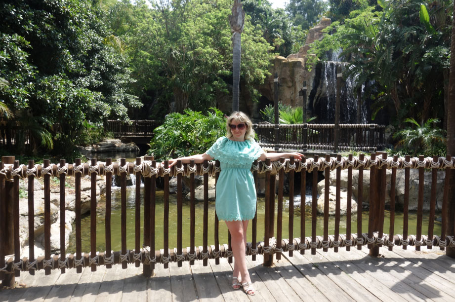 джунгли в Порт Авентура
