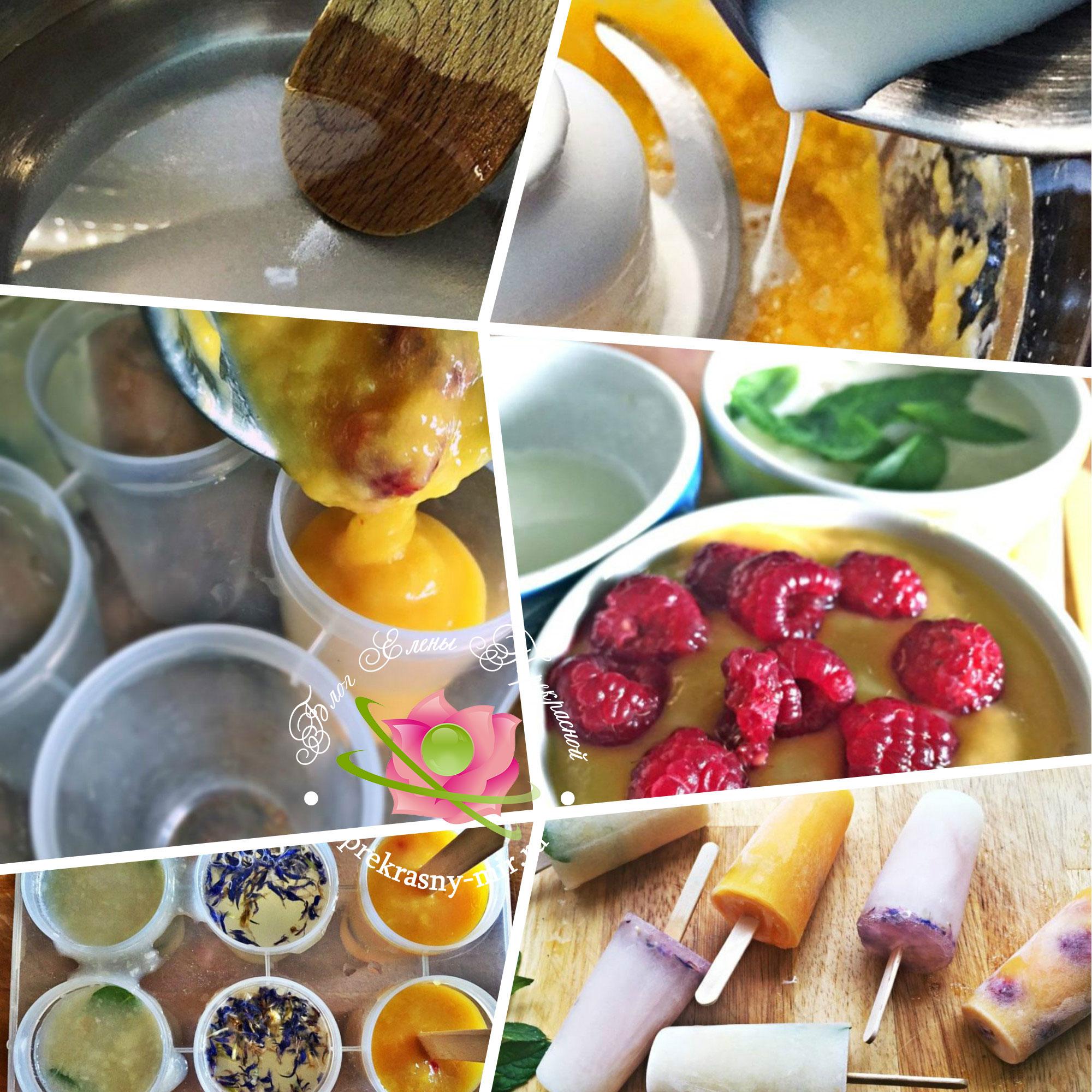 Рецепт домашнего фруктовое морожена