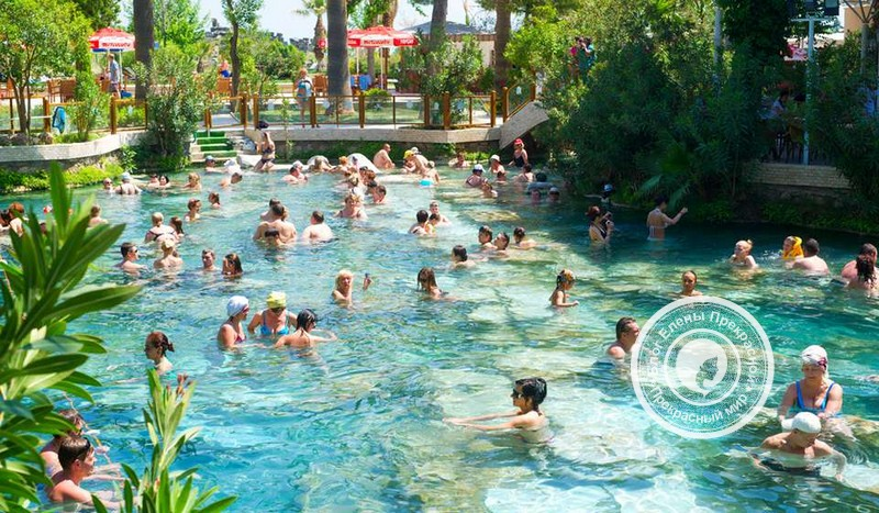 отзыв туристам о бассейне клеопатры