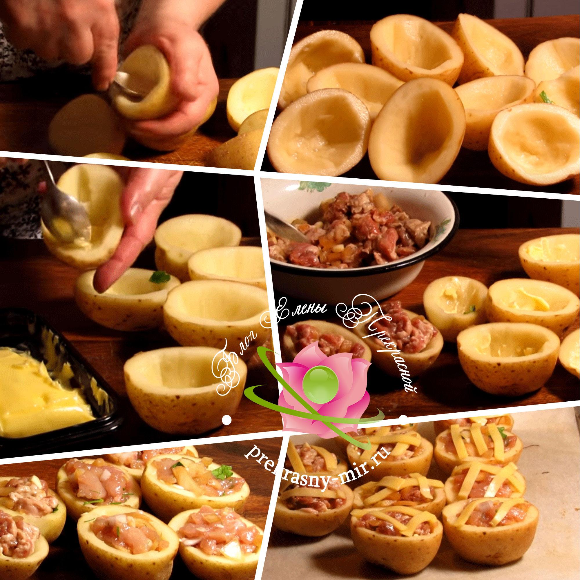 картофель печенный рецепт