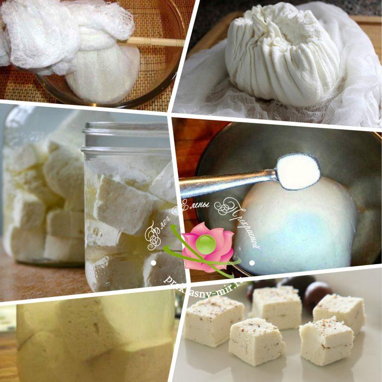 Сыр в домашних условиях рецепт с фото пошаговое
