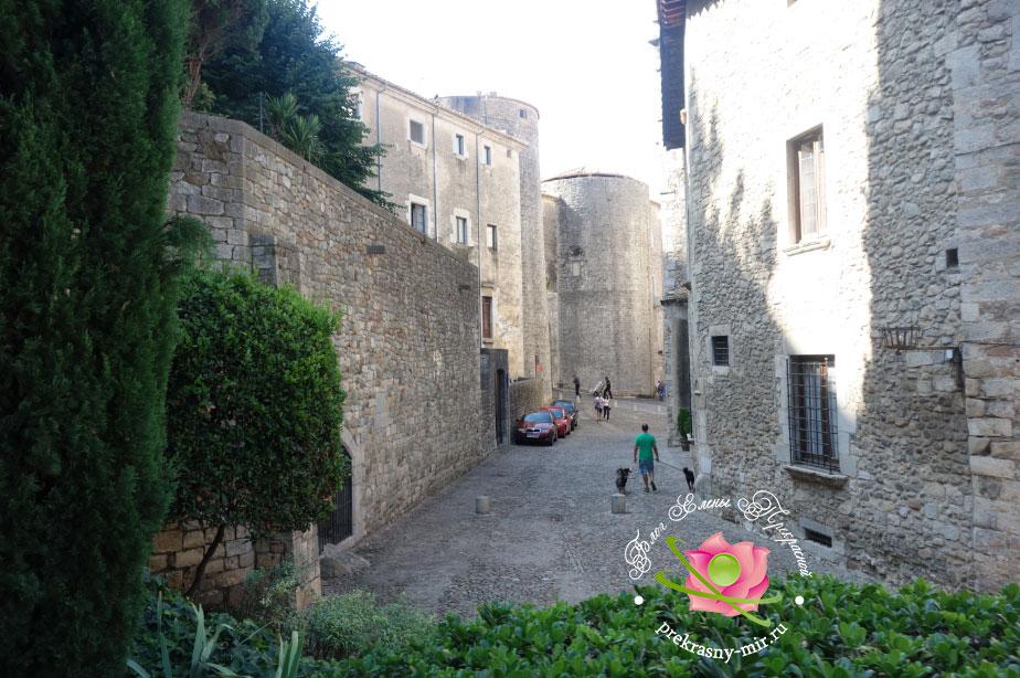 Готический квартал в Жироне