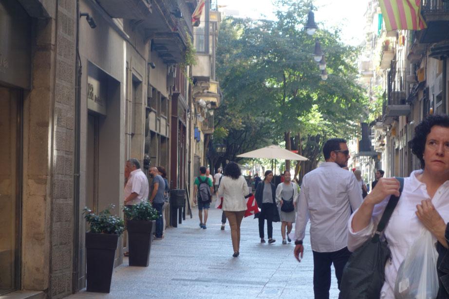 Начало улицы Рамбла