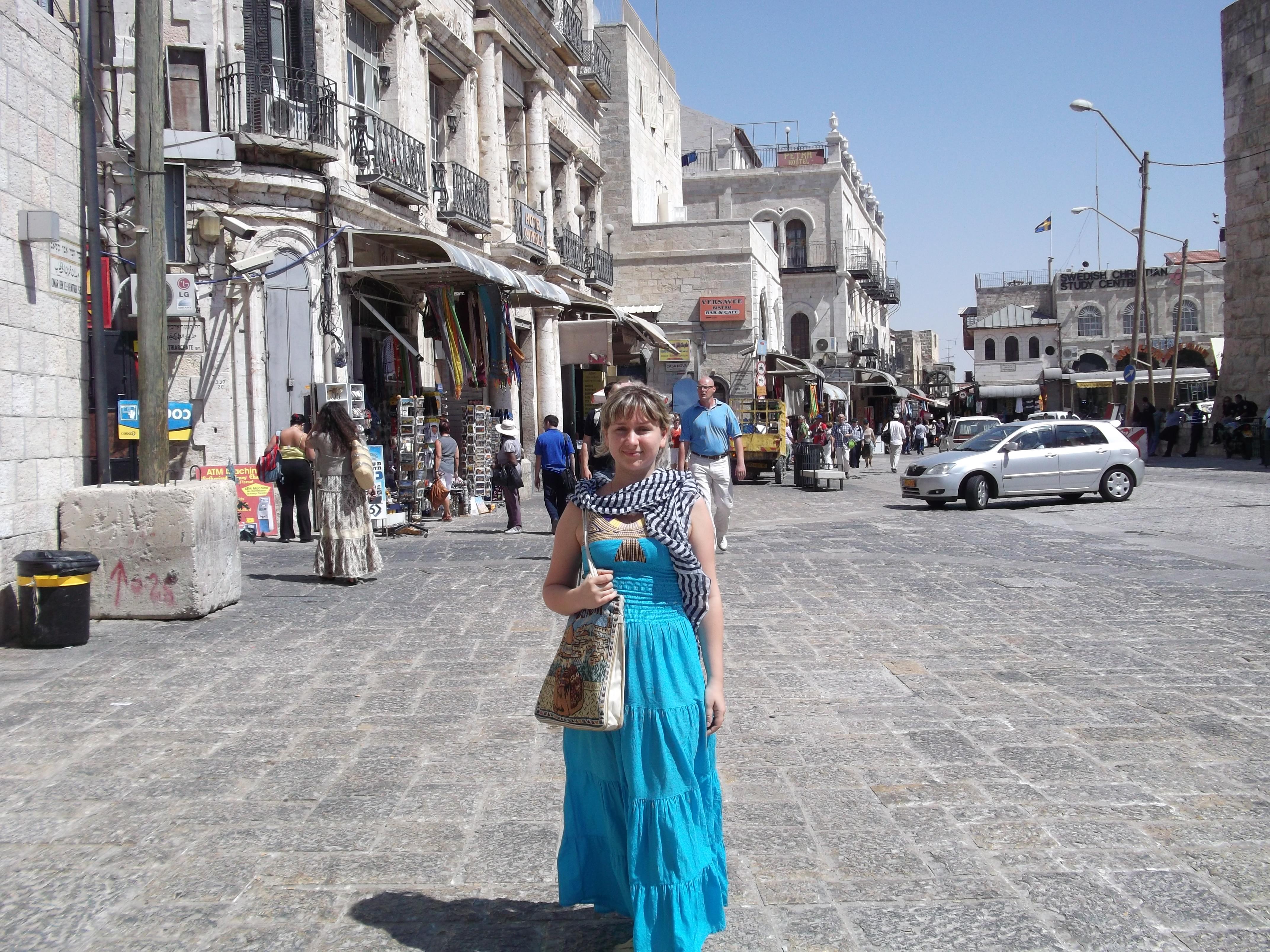 Вход в Яффские Ворота в Иерусалиме