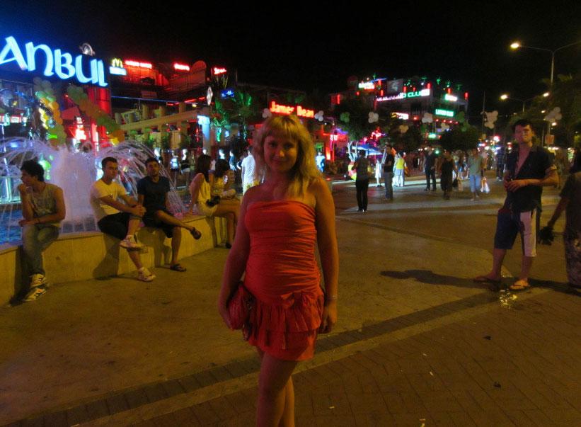 Улица баров в Аланье