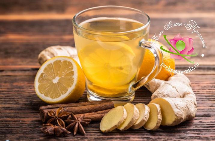 имбирный чай лечебные свойства