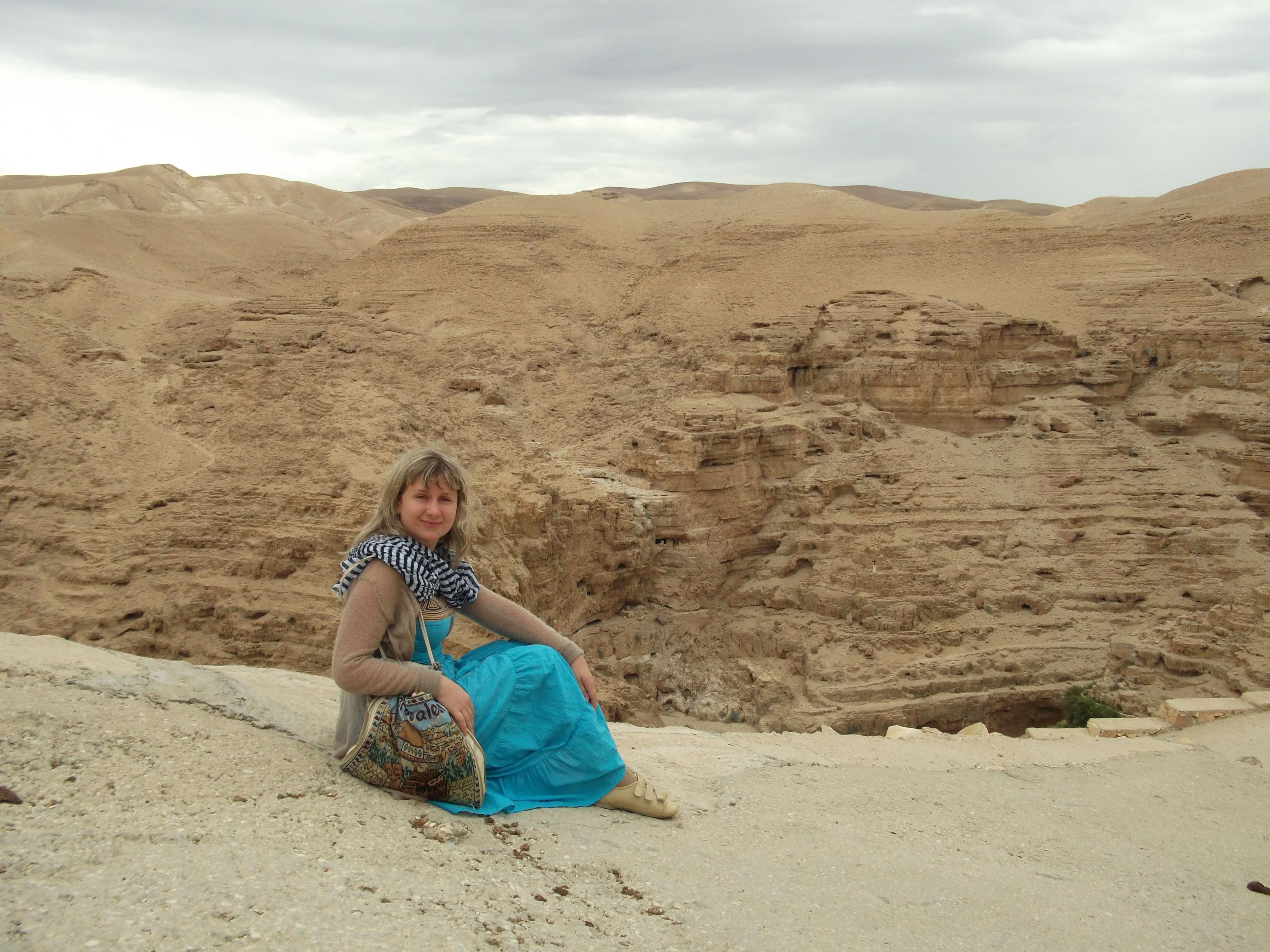 Монастыри в Пустыни Израиля