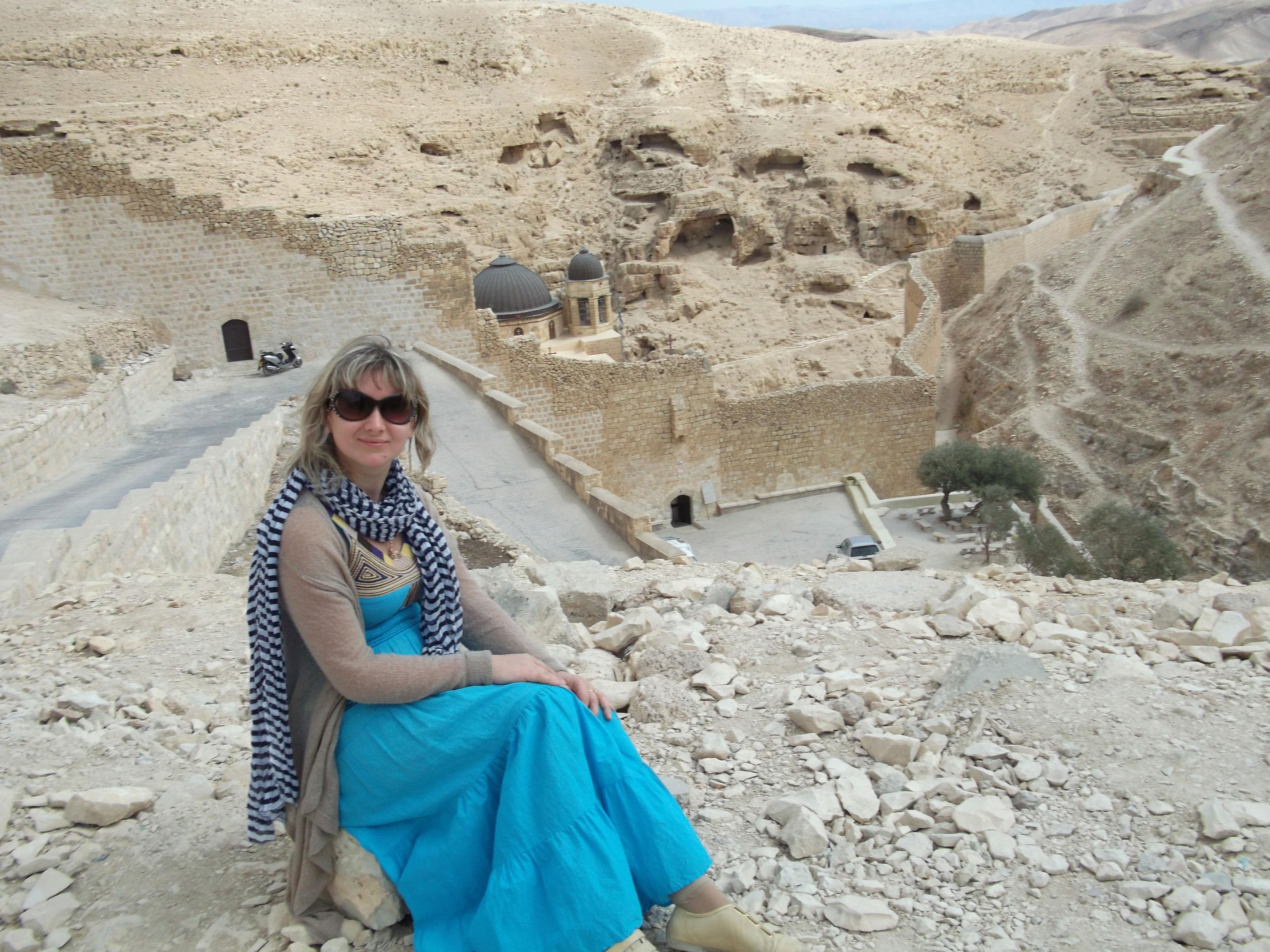 Монастырь Саввы в пустыне