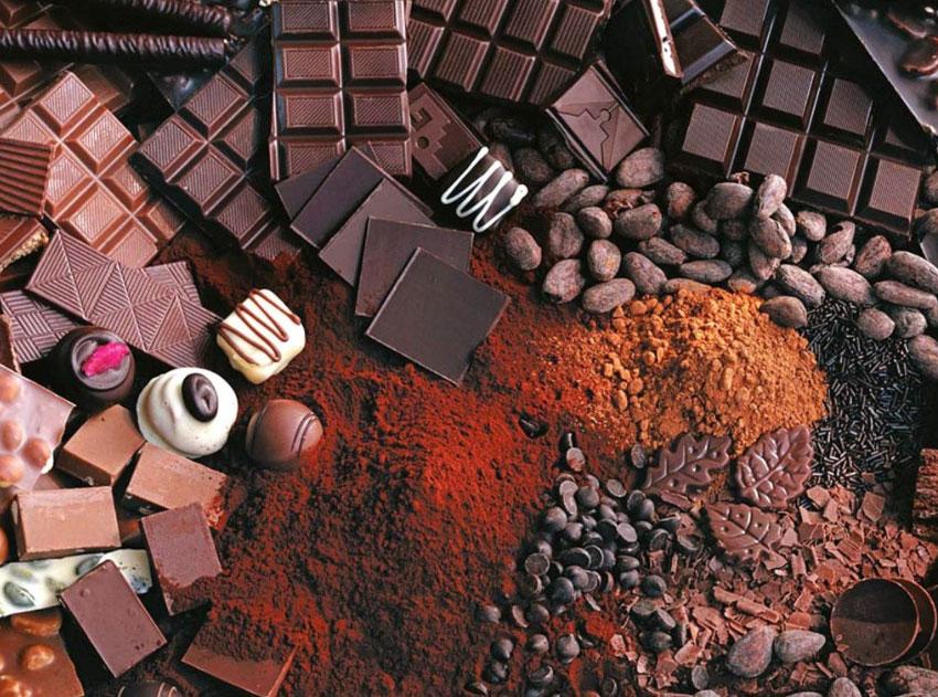 шоколад свойства