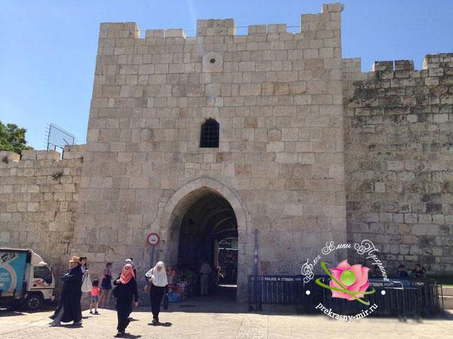Цветочные ворота в Иерусалиме
