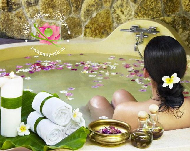 ароматические ванны для расслабления