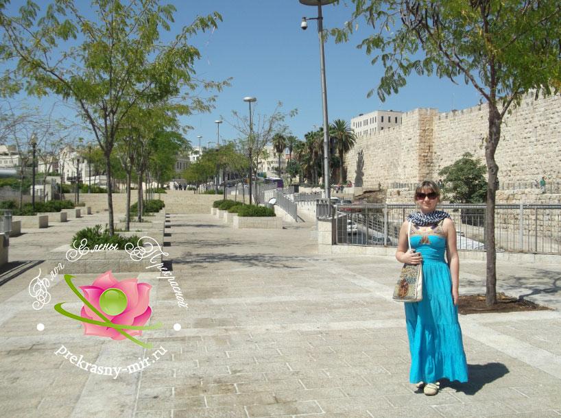 Я возле Яффских ворот
