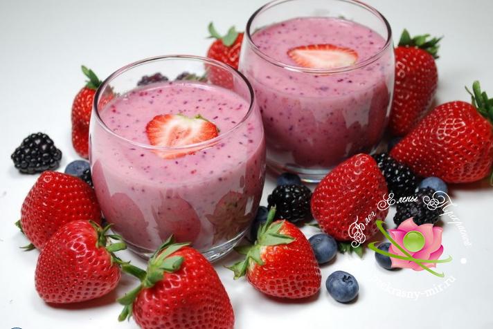 ягодный микс
