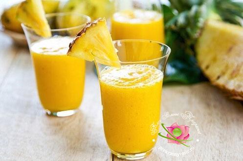 ананасовый смузи