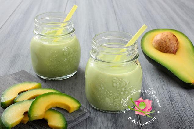 смузи с авокадо рецепт