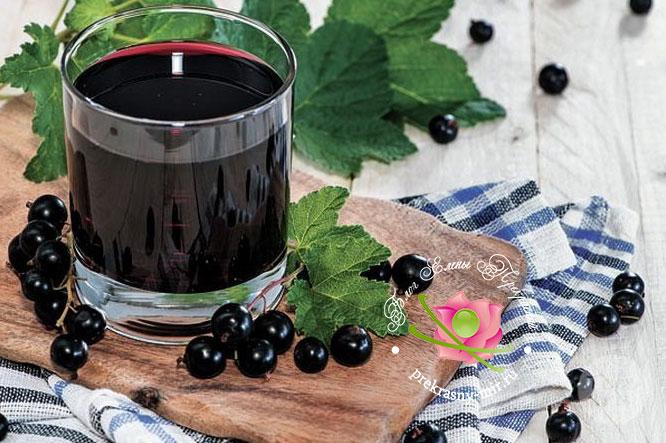 Смородиновый сок рецепт