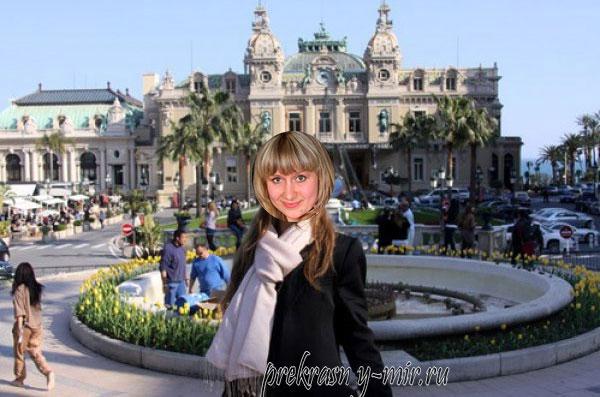 в Монако