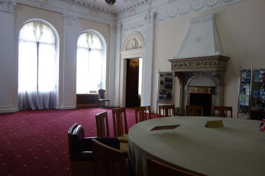 Ялтинская конференция в Ливадийском дворце