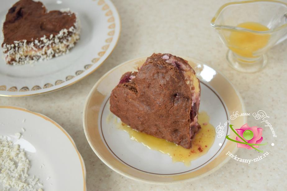 как приготовить торт сердце