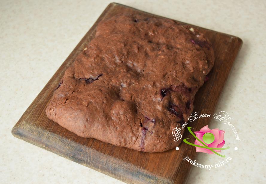 Торт сердце рецепт с вишнями