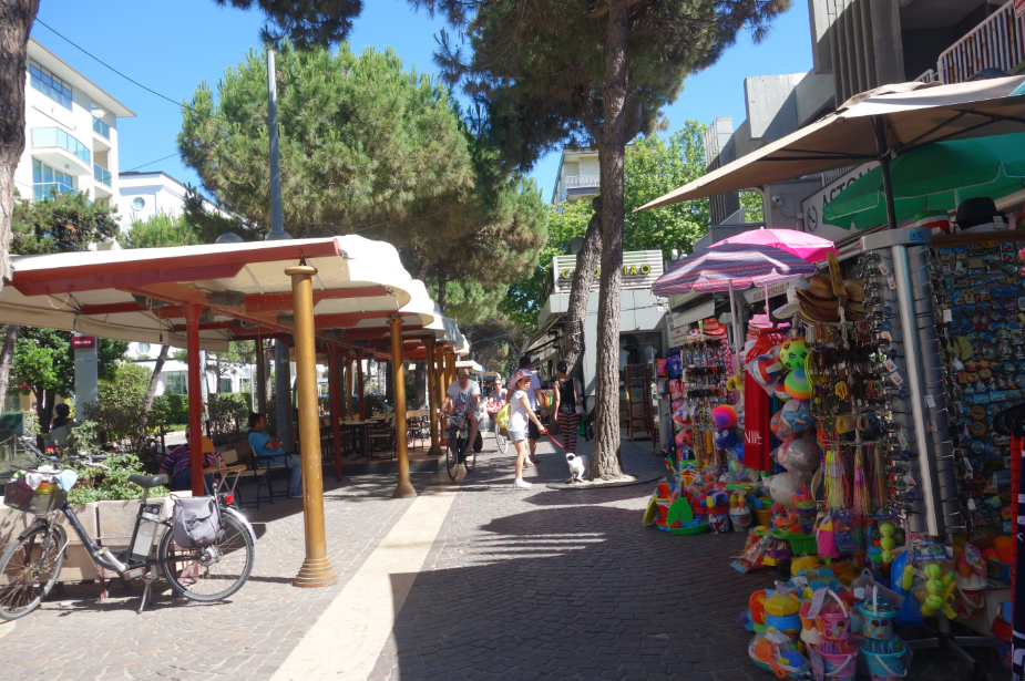 город Римини курорт