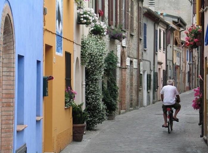 улицы Римини