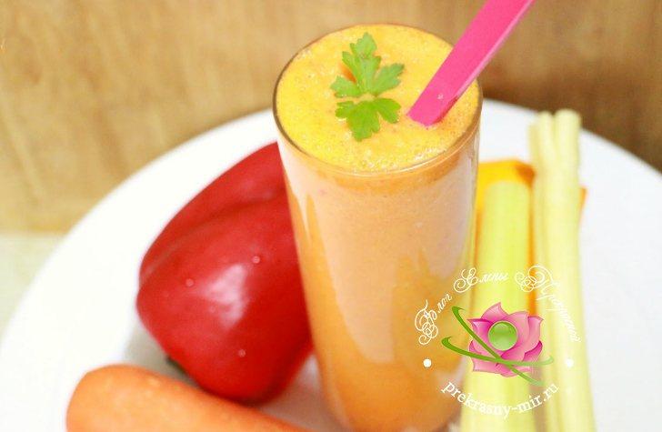 смузи морковный бум