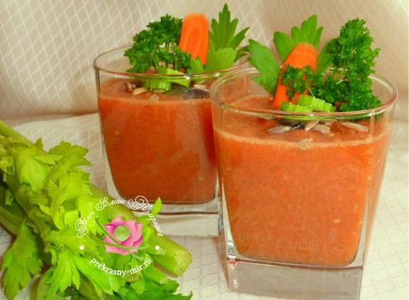 витаминный овощной смузи