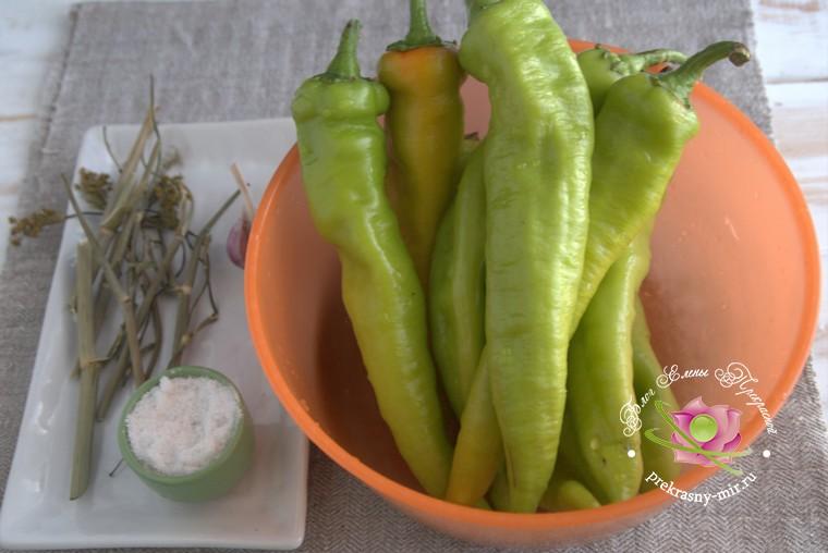 квашеный острый перец по-армянски на зиму: продукты