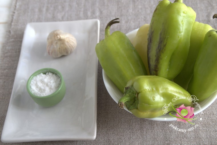 Квашенный болгарский перец: продукты