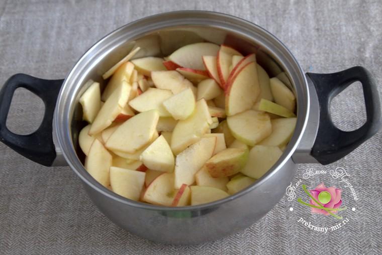 варенье из кизила на зиму с яблоками