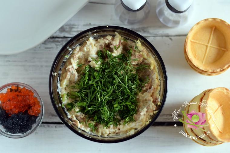 тарталетки с тунцом рецепт в домашних условиях