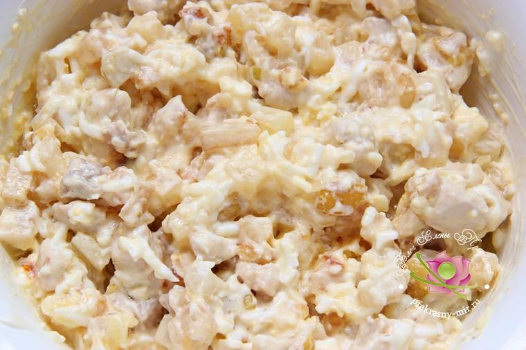 салат с курицей и сельдереем рецепт с фото