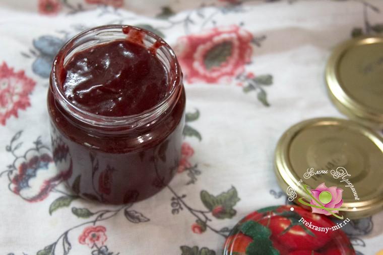 сливовый соус рецепт на зиму в домашних условиях