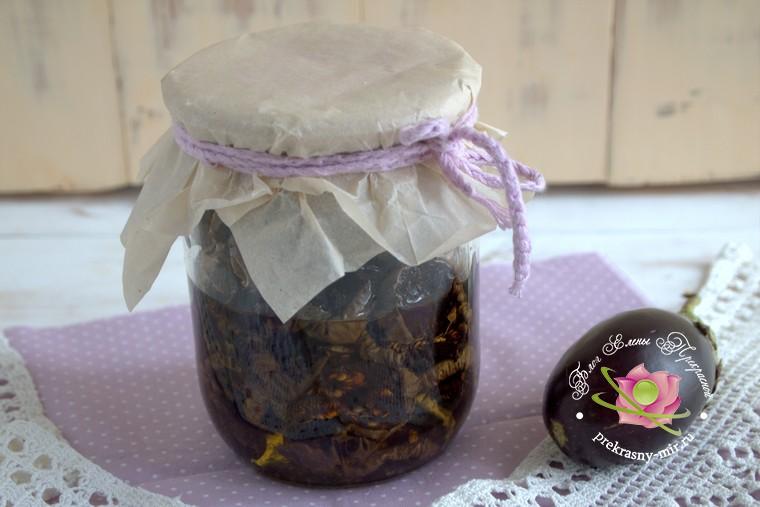 Вяленые баклажаны с базиликом: рецепт в домашних условиях